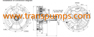 CASE transmission charge pump 181199A4