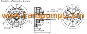 ZF transmission charge pump part no 0501220664