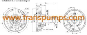 Transmission Charging Pump for JCB part no 20900400, 20925327, 20915900