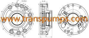 ZF Transmission Pump Assembly Part No 0501214894